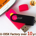 Hot Swivel OTG Mobile Dual USB Flash