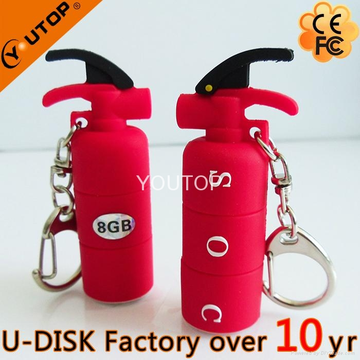 Custom Shaped Elegant Calabash Metal USB Flash Drive (YT-Metal) 3