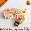 Custom Shaped Elegant Calabash Metal USB Flash Drive (YT-Metal) 1