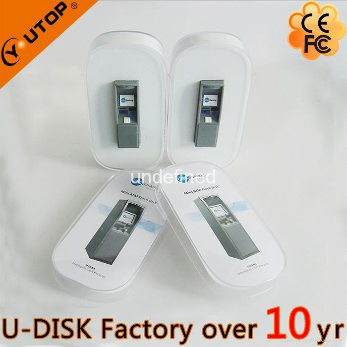 Hot Fancy ATM USB2.0 Flash Disk for Press Conference (YT-ATM-L2) 2