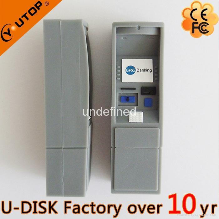 Hot Fancy ATM USB2.0 Flash Disk for Press Conference (YT-ATM-L2) 3