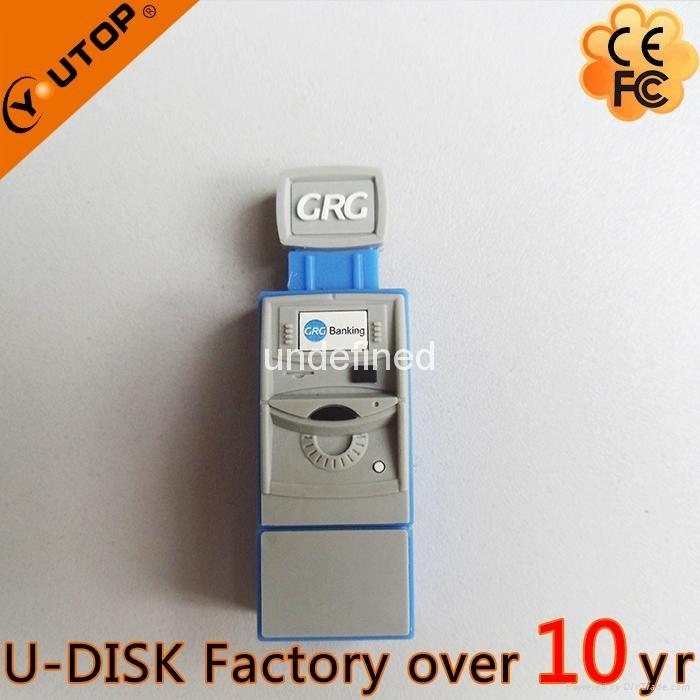 Hot Fancy ATM USB2.0 Flash Disk for Press Conference (YT-ATM-L2) 4