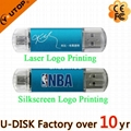 4-64GB Custom Logo OTG Mobile Dual USB