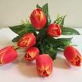 Real touch handmade import china silk flowers 1