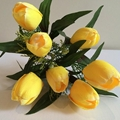 Real touch handmade import china silk flowers 2
