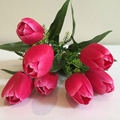 Real touch handmade import china silk flowers 4