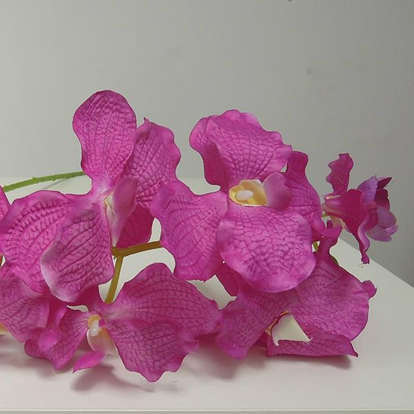 import china  wholesale artificial orchid flowers 5