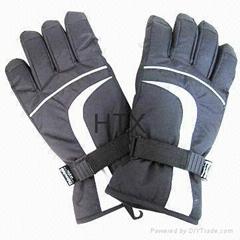 Men's  ski gloves warm winter sports gloves
