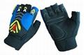 Mens fingerless Sports gloves