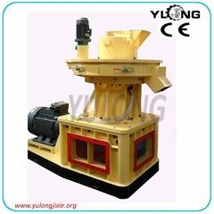 5 ton/hour yulong vertical ring die type biomass wood big pellet mill