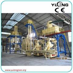 1 ton/hour yulong biomss wood pellet plant