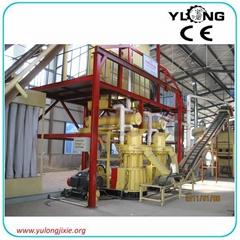 5ton/hur big capacity wood pellet plant
