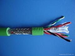 屏蔽拖鏈電纜