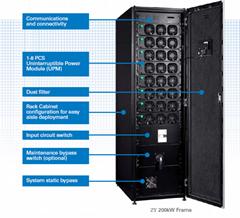 Online UPS single phase three phase dual conversion modular ups