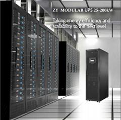Flexible Modular parallel Redundancy UPS 40kva three phase ups system