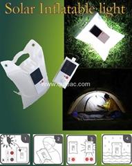 solar inflatable light