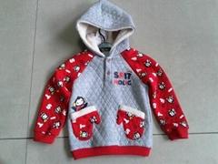 Children hoody coat