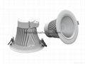 Aluminum die-casting cover for downlight
