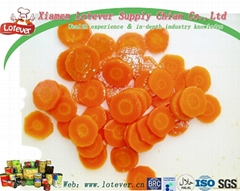 canned carrot slice