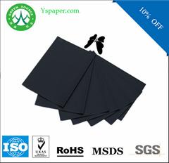 guangzhou paper mill black business card paper