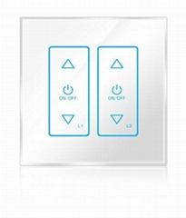 Wireless infrared wifi remote control networking zigbee dimmer touch panel switc
