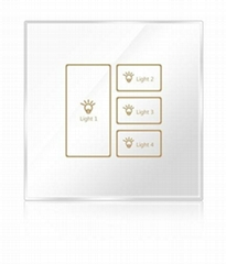 Wireless infrared wifi remote control networking zigbee timer touch panel switch