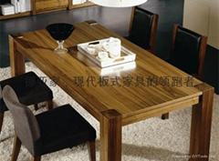 现代板式书房家具