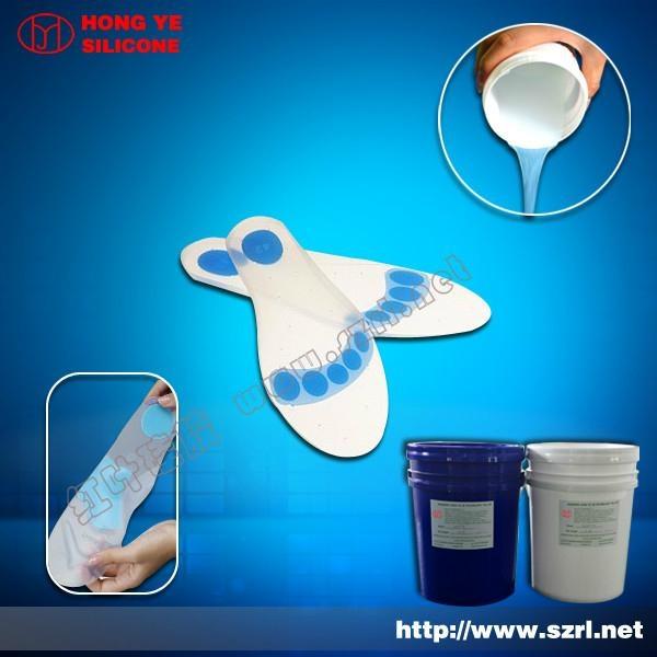 Medical Grade liquid silicone rubber for shoe insoles 2