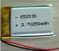 GB认证齐全 502030 3.7V 足容量250mAh 聚合物电池 2