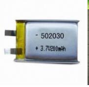 GB认证齐全 502030 3.7V 足容量250mAh 聚合物电池 3