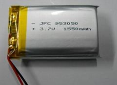 JFC 953050 3.7V 1550mAh 锂聚合物电池