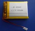 643333 Li-ion battery3.7V 560MAH  锂聚合物电池 魔音耳机电池 3