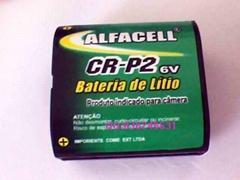 CR-P2锂锰电池 6V  1