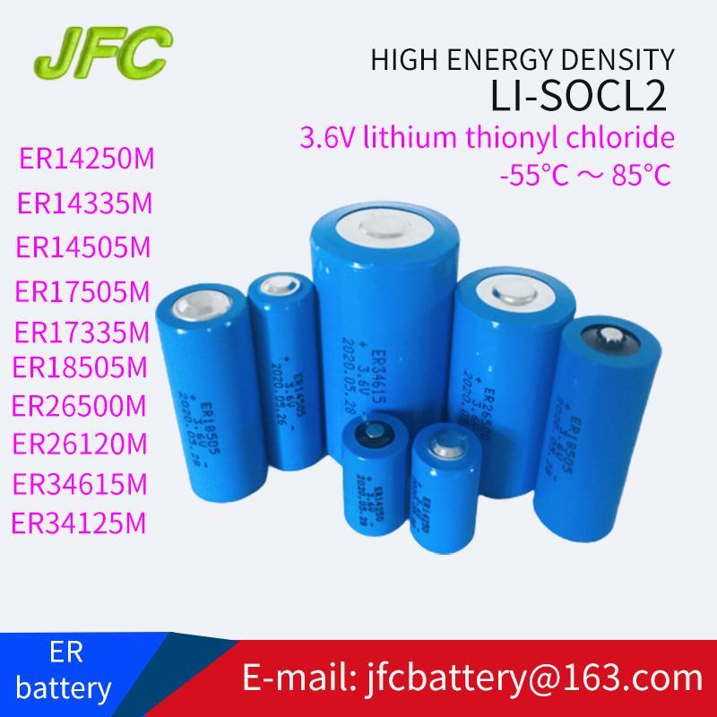 ER34615  Li -SOCl2  D型 锂亚硫酰氯电池 3.6V 1900mAh 5
