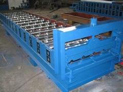 840屋頂板彩鋼壓瓦機