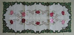Patchwork Embroidery Runner