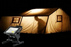 Portable 20W LED Camping Light with 8800mAh Rechargeable Battery