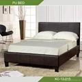 Modern soft PU bed XC-12-015