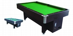 High quality MDF coin operated pool table