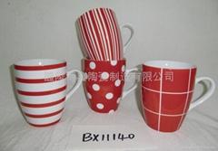 BX11140  porcelain mugs
