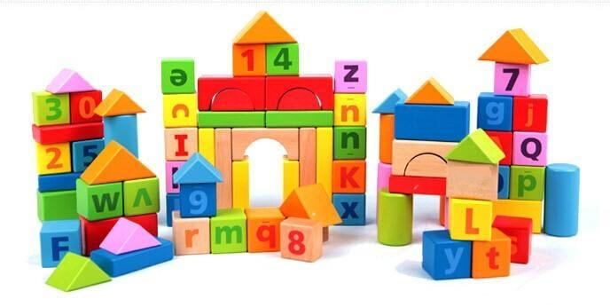 81粒字母數字學習大積木 1