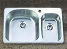 stainless steel sink   KTD3221