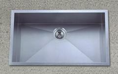 stainless steel sink         KHS3018
