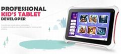 Kids educational machine tablet pc