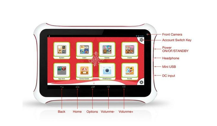 7inch educational tablet for kids 2