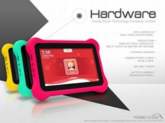 New Android  Tablet PC for Kids with Dual Operating Systems