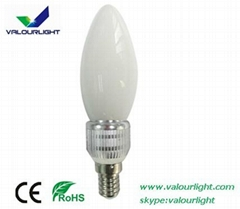 5W LED candle Bulb Dimmable E14 CE Rohs