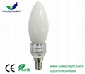 3W LED bent-tip Bulb Dimmable E14 CE Rohs 4