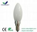 3W LED bent-tip Bulb  220V E14 CE Rohs 1