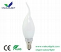3W LED bent-tip Bulb  220V E14 CE Rohs 2